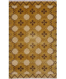 RugStudio presents Noble House Nepal 103 M. Gold Hand-Knotted, Good Quality Area Rug