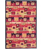 RugStudio presents Noble House Nepal R-103 Red-Multi Hand-Knotted, Good Quality Area Rug