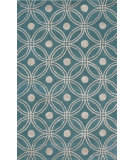 RugStudio presents Noble House Amber Amb-702 Light Blue / Silver Hand-Tufted, Good Quality Area Rug