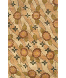 RugStudio presents Noble House Avalon Ava-206 Peach / Beige Hand-Tufted, Better Quality Area Rug