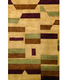 RugStudio presents Noble House Bengal Ben-303 Beige Hand-Tufted, Better Quality Area Rug