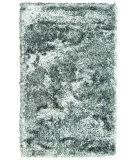 RugStudio presents Noble House Crystal Crym-2505 White / Black Area Rug