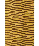 RugStudio presents Noble House Eleen Eleen-5901 Light Gold / Brown Hand-Tufted, Good Quality Area Rug