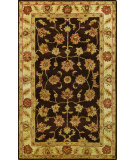 RugStudio presents Noble House Golden Gold-802 Brown / Beige Hand-Tufted, Best Quality Area Rug