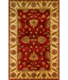 RugStudio presents Noble House Golden Gold-805 Red / Beige Hand-Tufted, Best Quality Area Rug