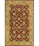 RugStudio presents Noble House Harmony Har-903 Burgundy / Gold Hand-Tufted, Better Quality Area Rug