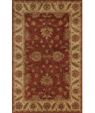 RugStudio presents Noble House Imperial Imp-1003 Burgundy / Camel Hand-Tufted, Best Quality Area Rug