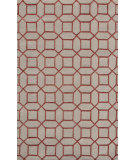 RugStudio presents Noble House Indigo Ind-5001 Cream / Pink Hand-Tufted, Good Quality Area Rug