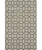 RugStudio presents Noble House Indigo Ind-5004 Cream / Brown Hand-Tufted, Good Quality Area Rug