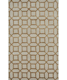 RugStudio presents Noble House Indigo Ind-5005 Cream / Gold Hand-Tufted, Good Quality Area Rug