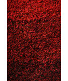 RugStudio presents Noble House Jewel Jewe-4402 Black / Red Area Rug