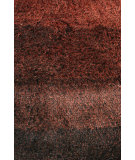 RugStudio presents Noble House Jewel Jewe-4404 Black / Rust Area Rug