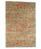 RugStudio presents Noble House Legacy Kai-152 Blue Hand-Knotted, Good Quality Area Rug