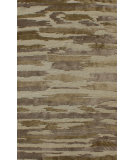 RugStudio presents Noble House Legacy Leg-1506 Beige-Brown-Gold Hand-Knotted, Good Quality Area Rug