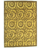 RugStudio presents Noble House Mario 57 Green Hand-Knotted, Good Quality Area Rug