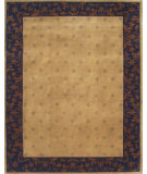 RugStudio presents Noble House Mario 8 Beige-Blue Hand-Knotted, Good Quality Area Rug