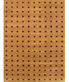 RugStudio presents Noble House Mario M-11 Gold Hand-Knotted, Good Quality Area Rug