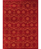 RugStudio presents Noble House Mario M-22 Red-Gold Hand-Knotted, Good Quality Area Rug