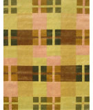 RugStudio presents Noble House Mario M-41 Green Hand-Knotted, Good Quality Area Rug