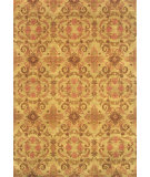 RugStudio presents Noble House Modern Chobi-Hb Pm-23 Green Hand-Knotted, Good Quality Area Rug