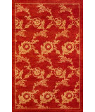RugStudio presents Noble House Modern Chobi Pm-10 Red-Gold Hand-Knotted, Good Quality Area Rug