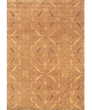 RugStudio presents Noble House Modern Chobi-Lb Pm-20 Lt. Brown Hand-Knotted, Good Quality Area Rug