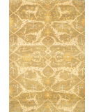 RugStudio presents Noble House Modern Chobi-Lq Pml-1 Lt. Green Hand-Knotted, Good Quality Area Rug