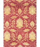 RugStudio presents Noble House Modern Chobi-Lq Pml-4 Burgundy Hand-Knotted, Good Quality Area Rug