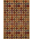 RugStudio presents Noble House Noble Nob-1702 Beige-Multi Hand-Knotted, Good Quality Area Rug