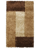 RugStudio presents Noble House Pearl Pearl-2302 Cola / Camel Area Rug