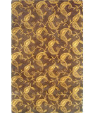 RugStudio presents Noble House Primus Prim-103 Brown Hand-Knotted, Good Quality Area Rug
