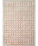 RugStudio presents Noble House Primus Prim-105 Ivory-Pink Hand-Knotted, Good Quality Area Rug