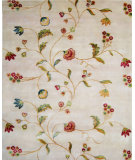 RugStudio presents Noble House Primus Prim-113 Ivory Hand-Knotted, Good Quality Area Rug