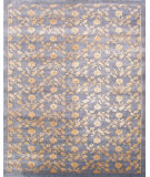 RugStudio presents Noble House Regency 10 Grey-Gold Hand-Knotted, Good Quality Area Rug