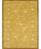 RugStudio presents Noble House Regency 21 Gold-Beige-Green Hand-Knotted, Good Quality Area Rug