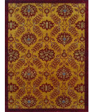 RugStudio presents Noble House Regency 26 Gold-Red Hand-Knotted, Good Quality Area Rug