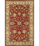 RugStudio presents Noble House Vintage Vin-1103 Red / Gold Hand-Tufted, Best Quality Area Rug