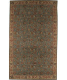 RugStudio presents Nourison Grand Parterre Pt01 Blue Machine Woven, Good Quality Area Rug