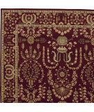 RugStudio presents Nourison Grand Parterre Pt02 Burgundy Machine Woven, Good Quality Area Rug