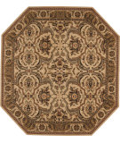 RugStudio presents Nourison Grand Parterre Pt06 Beige Machine Woven, Good Quality Area Rug