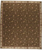 RugStudio presents Nourison Saffira Sa02 Brown Machine Woven, Good Quality Area Rug