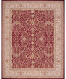 RugStudio presents Rugstudio Sample Sale 45105R Burgundy Hand-Hooked Area Rug