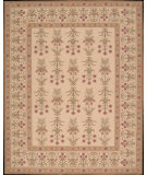 RugStudio presents Nourison Sixteenth Century 1651 Light Gold Hand-Hooked Area Rug