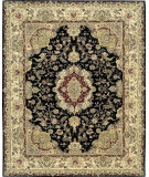 RugStudio presents Rugstudio Sample Sale 7284R Black Hand-Tufted, Best Quality Area Rug