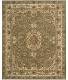 RugStudio presents Rugstudio Sample Sale 23933R Olive Hand-Tufted, Best Quality Area Rug