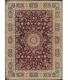 RugStudio presents Nourison 2000 2050 Burgundy Hand-Tufted, Good Quality Area Rug