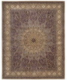 RugStudio presents Rugstudio Sample Sale 7290R Lavender Hand-Tufted, Best Quality Area Rug