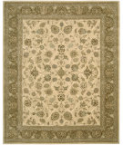 RugStudio presents Rugstudio Sample Sale 20133R Ivory Hand-Tufted, Best Quality Area Rug