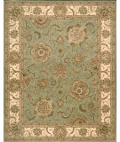 RugStudio presents Nourison 2000 2230 Light Green Hand-Tufted, Best Quality Area Rug