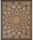 RugStudio presents Nourison 2000 2318 Slate Hand-Tufted, Good Quality Area Rug